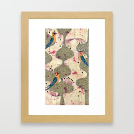 tweets Framed Art Print