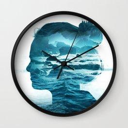 The Sea Inside Me Wall Clock