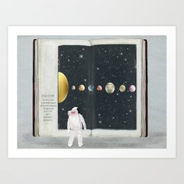 the big book of stars Kunstdrucke