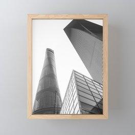 colorless shanghai 4 Framed Mini Art Print