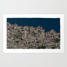 London Favela Art Print