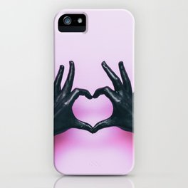 Hands With love iPhone Case