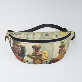 Udaipur Visit India Placard Fanny Pack