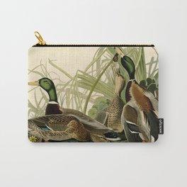 Mallard Ducks Carry-All Pouch