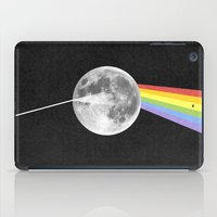 dark side of the moon iPad Cases featuring Dark Side of the Moon. by Nick Nelson