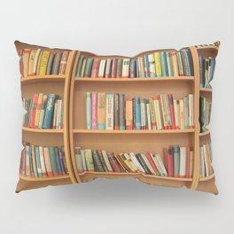 Bookshelf Books Library Bookworm Reading Pillow Sham