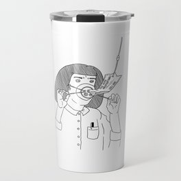 I Love True Crime - Feminine Version Travel Mug