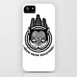 Meow Meow Industries iPhone Case