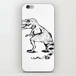 Unravelled T-Rex Dinosaur iPhone Skin