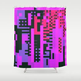 tcanvasmosh9x2a Shower Curtain