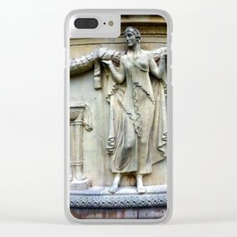 Stone Muse Clear iPhone Case