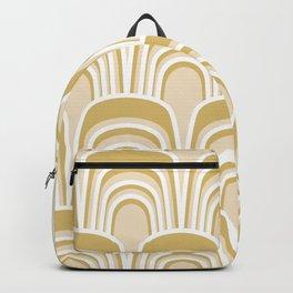 Gertie in Gold Backpack