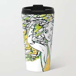 Afrolatina lemonade - 2 - sexy girl Travel Mug