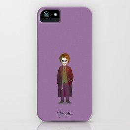 Heath Ledger - Joker iPhone Case