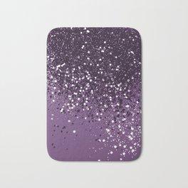PURPLE Glitter Dream #1 #shiny #decor #art #society6 Bath Mat