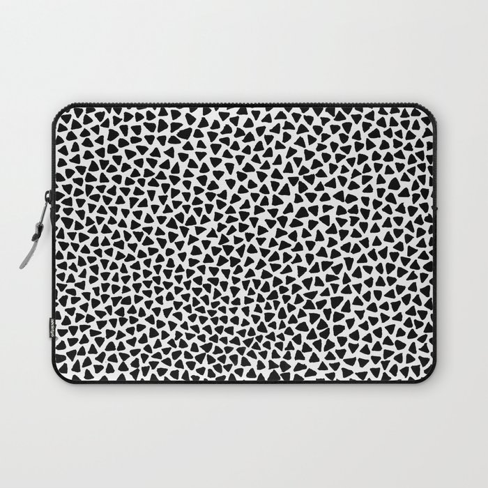 Black Triangles Laptop Sleeve