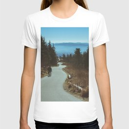 Path up the Great Smoky Mountains T-shirt