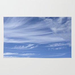 Little wispy clouds Rug