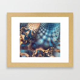 Hot Spots Framed Art Print