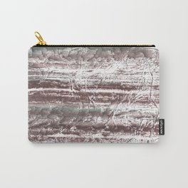 Gray blurred watercolor Carry-All Pouch