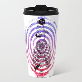 Skeleton Bullseye Travel Mug