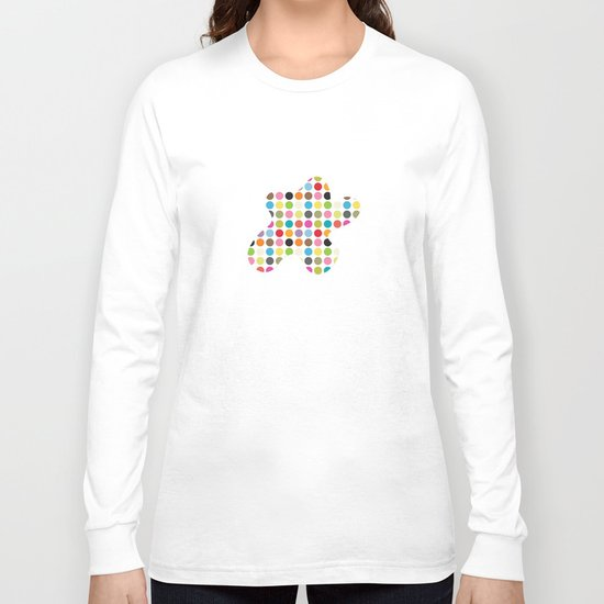 color pattern 6 Long Sleeve T-shirt