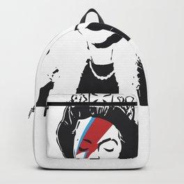 Queen Elizabeth As Ziggy, Banksy, Streetart Street Art, Stardust Grafitti, Artwork, Design For Men, Backpack