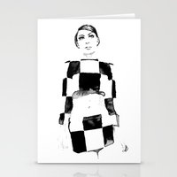 mod Stationery Cards featuring Mod by Sarah Maltas