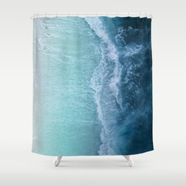 Turquoise Sea Shower Curtain