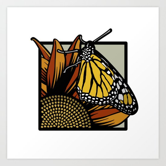 Flora & Fauna II Art Print
