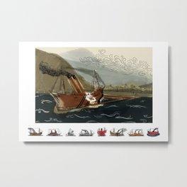 Fleet Metal Print