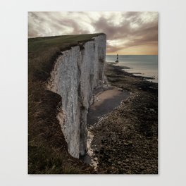 White Cliffs of England Canvas Print