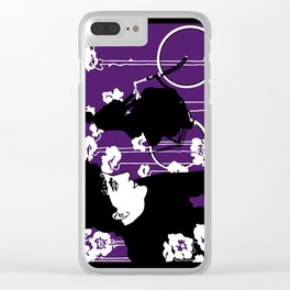 Victor Bicyles Goth Style Clear iPhone Case