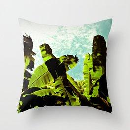 Banana Dreams Throw Pillow