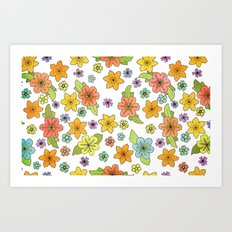 Flowers No. 2 Art Print