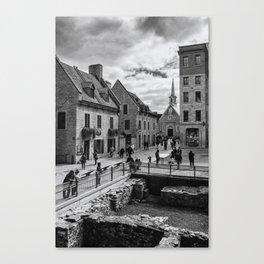 Old Quebec City Canvas Print