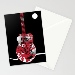 Roaring Guitar Stationery Cards