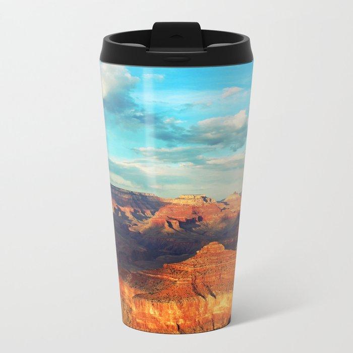 Grand Canyon - National Park, USA, America Metal Travel Mug