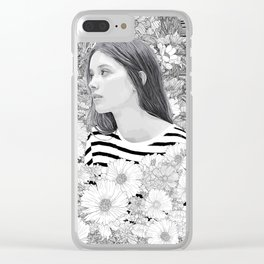 Lovely whisper Clear iPhone Case