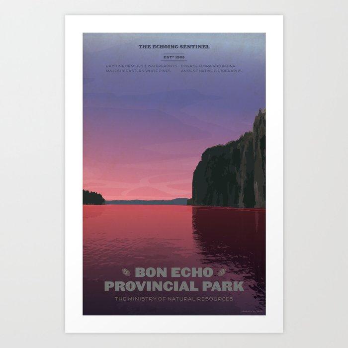 Bon Echo Provincial Park Art Print