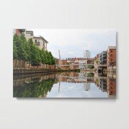 Leeds Metal Print