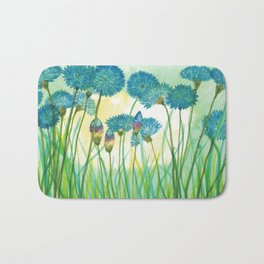 May your cornflowers never fade Bath Mat
