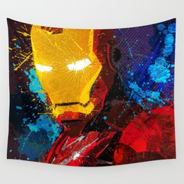 Iron man I Wall Tapestry