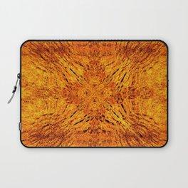 Golden Orange Colorburst Laptop Sleeve