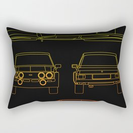Escort Mk2 RS1800 Rectangular Pillow