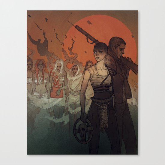 Blood, seed and milk Canvas Print
