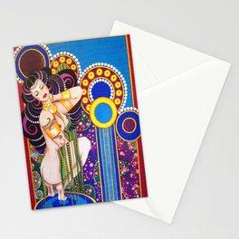 African Klimt Stationery Cards