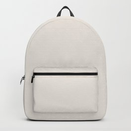 GARDENIA pale solid color  Backpack