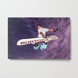 Snowboarding #2 Metal Print