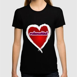#Choosekind Hashtag Heart Anti-Bullying Kindness T-shirt